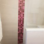 Carrelages mosaique rouge