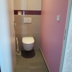 Carrelages gris salle de bain