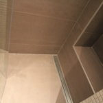 Carrelages marron salle de bain