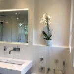 Carrelages blanc salle de bain